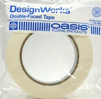 "Oasis Double Faced Waterproof White Tape 1"" (20ft Roll)"