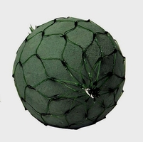 "Oasis Netted Floral Foam Spheres Large 6"" ( 2 piece/pkg)"
