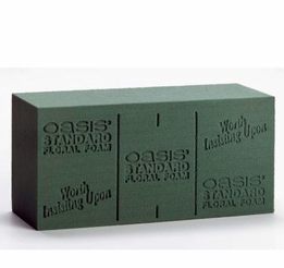Oasis Wet Floral Foam (4 bricks/pkg )