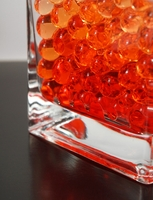 Orange Jumbo Water Pearls (water holding vase gems)