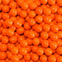 Orange Sixlets Favor Candy 14oz