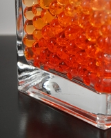 Orange Water Pearls (water holding vase gems)