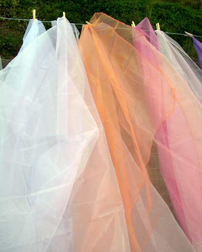 Organza Hemmed, Draping - Click to enlarge