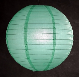 "Paper Lanterns 16"" Robins Egg"