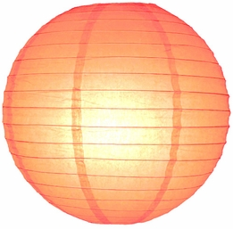 Paper Lanterns 24 in. Peach