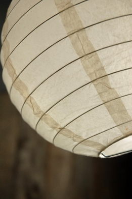 Paper Lanterns 8 in. Round Beige