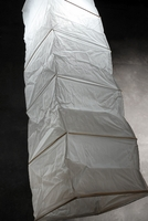 "Paper Lanterns Extra Long Square 40"" Tall"