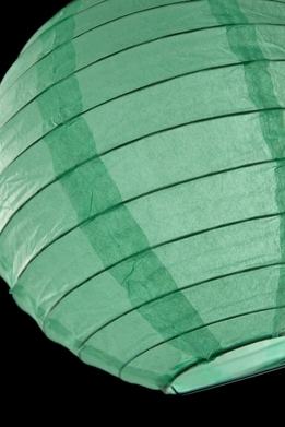 Paper Lanterns Round 8 in. Light Green Robins Egg