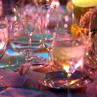 Party Ideas: Add Color and Light to your Centerpieces