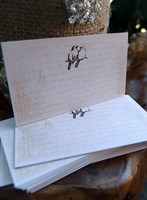 Place Cards Handmade Love Birds (24 cards/pkg)