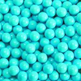 Powder Blue Sixlets Favor Candy 14oz