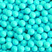 Powder Blue Sixlets Favor Candy | Six 14oz Bags