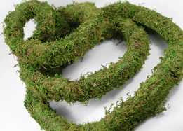 Preserved Moss Garland 10 ft