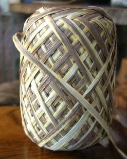 Raffia Ribbon 3 color: Tan, Yellow, Brown 100 yards