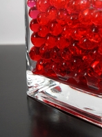 Red Jumbo Water Pearls (water holding vase gems)
