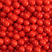 Red Sixlets Favor Candy | Six 14oz Bags