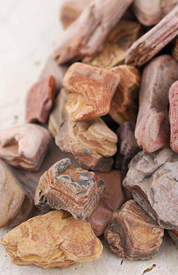 Rocks, Stones, Bark - Floral Design Supplies