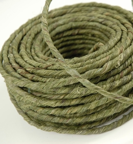 Rustic Floral Wire Green 70 feet