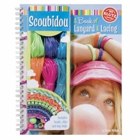 Scoubidou Lanyard & Lacing Book by Klutz  Books (Age 8 Years +)