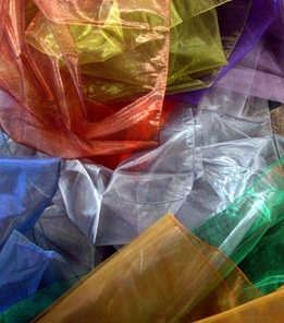 Sheer Iridescence Fabrics