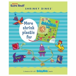 Shrinky Dinks - Extra from Klutz