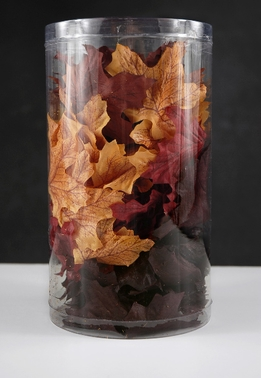 Silk Assorted Autumn Leaves (100 leaves/pkg)