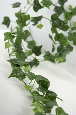 Silk Ivy Garlands 6ft | 125 Leaves (Pack of 12)