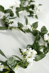 Silk Lily of the Valley 6' Garlands