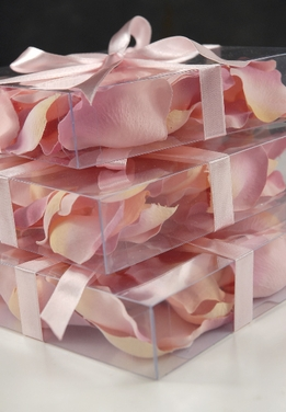 Silk Rose Petals Pink Two Tone (60 petals/ box)