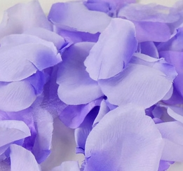 Silk Rose Petals Purple Two Tone (100 petals)