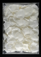 Silk Rose Petals White ( 200 petals/box)