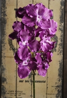 Silk Vandas Orchids Purple