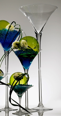 Skyscraper Martini Glass Vase