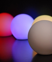 Small Glowing Orbs 3.25in LED
