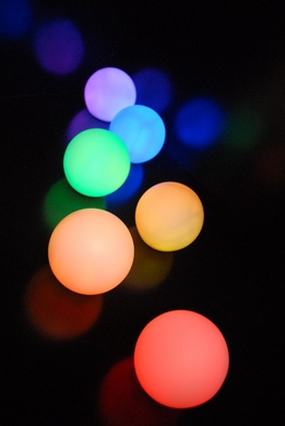 "Small Glowing Orbs (3"")"