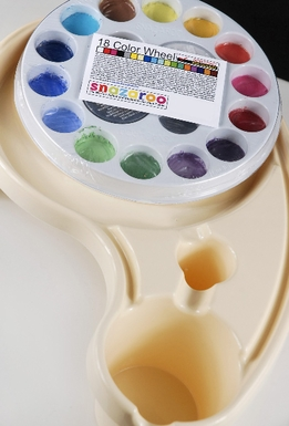 Snazaroo 18 Color Walk Around Palette Face Painting