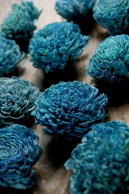 Sola Flowers Teal Blue (12 flowers pkg)