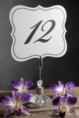 Table Numbers Double Sided (1-25)