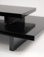Table Risers Black MDF Risers (Set of Two)