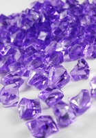 Table Scatter Vase Gems Lavender (3/4 lb)