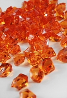 Table Scatter Vase Gems Orange (3/4 lb bag