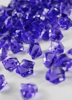 Table Scatter Vase Gems Purple (3/4 lb)