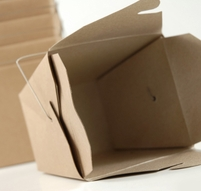 Take Out Boxes Brown 4in | 12 Boxes