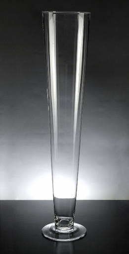 Tall Pilsner Vase 24in