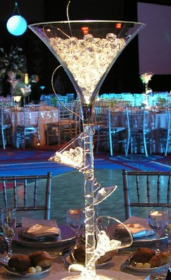 Tall Vases and Lighting