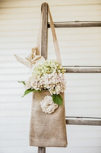 Tattered Rose Large 12x8 Burlap Bags