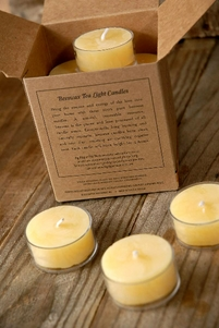 Beeswax Tealights (16 candles)
