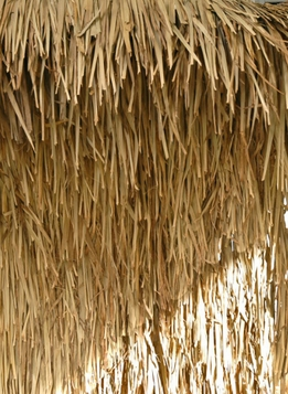 Thatch Panel 4 x 4 foot Natural Tiki Bar Supplies