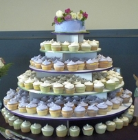 The Original Cupcake Tree - Large Round (holds up to 300 cupcakes)