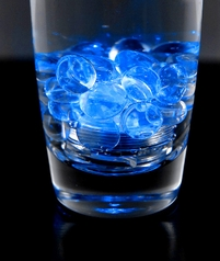 "Tiny 1"" Blue Submersible LED Vase Lights (12 pieces)"